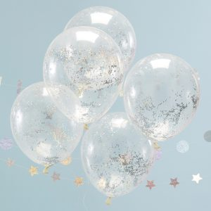 Konfetti-Luftballons Hologram Ginger Ray Fawntastique