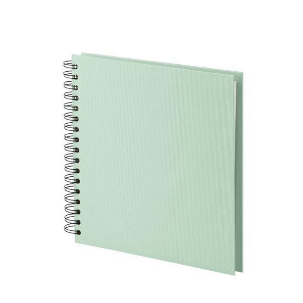 Quadratische Fotoalbum in der Farbe Mint