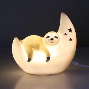 LED Nachtlicht mit kleinem Faultier