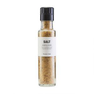 Salzmühle mit Thymian Zitronen Geschmack